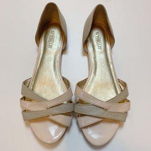 Seyechelles Peep Toe Flats 8